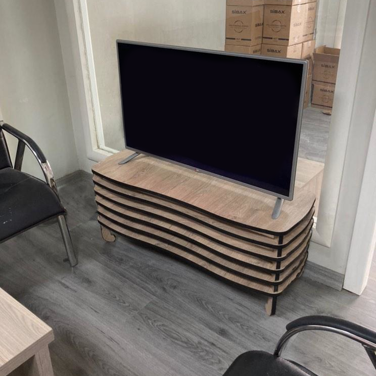 Photo of a Wavy TV Rack made in Turkey